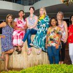 Allison Ekstrand, Shireen Eraman, Tanith King, Chrystal Austin, Athabile Ketsiwe, Chantal Anley and Thigam Nathoo