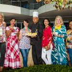 Chantal Anley, Shireen Eraman, Tanith King, Chef Eddie Dorasamy, Thigam Nathoo, Chrystal Austin & Athabile Ketsiwe